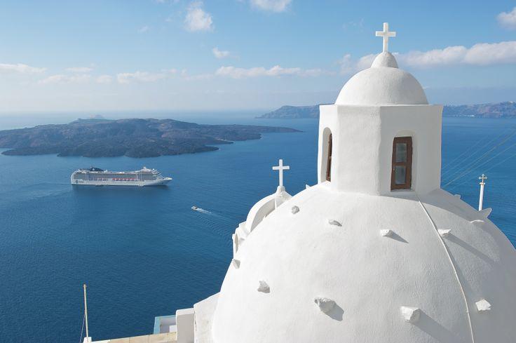 Santorini, Griekenland / Santorin, Grèce #MSCMusica