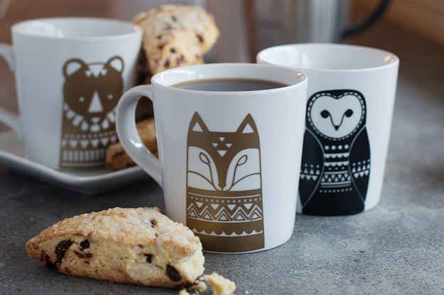 21 DIY Projects That Are Perfect For Rainy Days- Scandinavian Mugs