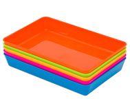 Materialschalen-Set, 5 kleine Schalen vielseitige Schalen aus Kunststoff. Perfekt um Kleinteile aufzubewahren #edumero #Materialschalen