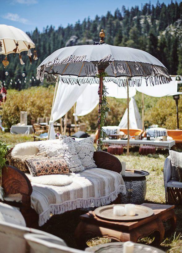 Boho wedding dress, Outdoor wedding, Wedding ideas, Wedding tent    Colin Cowie Weddings