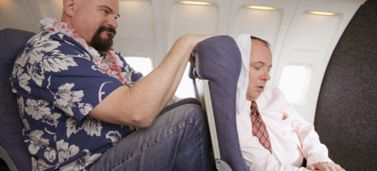 Preventing DVT when you travel: Travel Tips, Of The, Defender, Businessman S Chair, No Excuses, Air Travel, In The