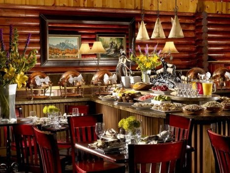 Rustic Inn Restaurant - At Jackson Hole 4 stars  475 N. Cache, Jackson, United States