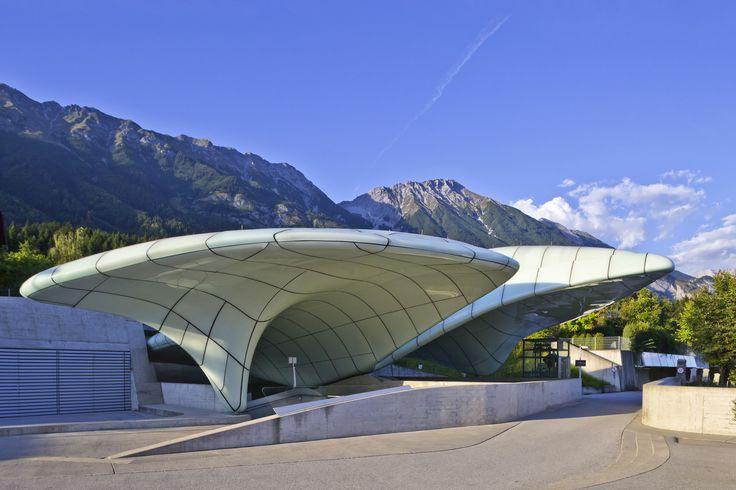 Architect Zaha Hadid created the Hungerburgbahn hybrid funicular railway, an incredible piece of art located in Innsbruck, in Austria.  © Österreich Werbung/ Andreas Hofer #feelaustria