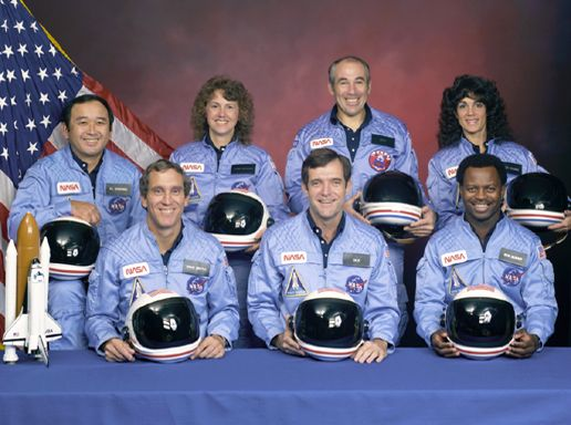 Crew of STS-51-L: Spaceshuttl, Shuttle Challenges, Spaces Shuttle, Heroes, Christa Mcauliffe, High Schools Teacher, January 28, Challenges Crew, Challenges Disasters