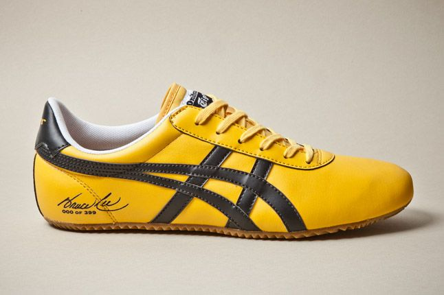 10.5 New Asics Onitsuka Tiger Mexico 66 Yellow Black Bruce Lee