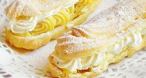 crema de vanilie, eclere, Prajituri, prajituri de casa, retete de prajituri,