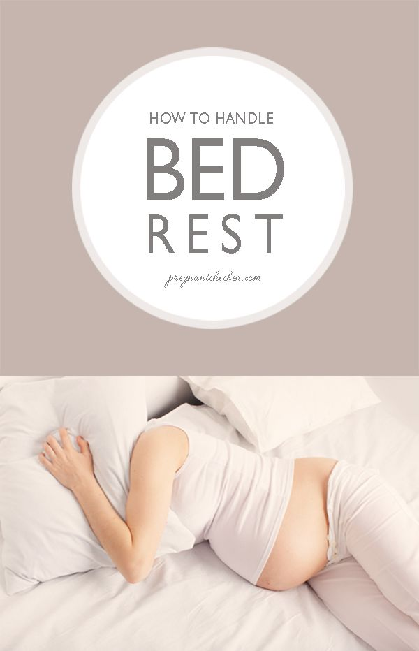 How to Handle Bed Rest - Pregnant Chicken