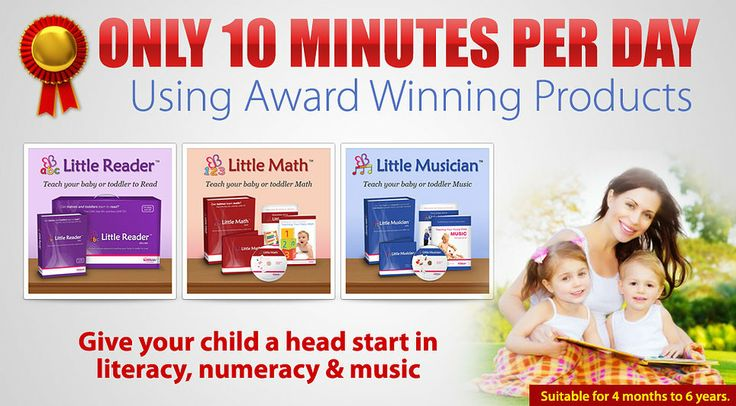 Give your child a head start in literacy, numeracy & music!
