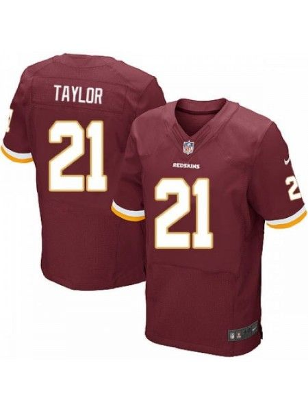 new style 455e2 239cf Washington Redskins #21 Sean Taylor Red Jersey | HAIL TO THE ...