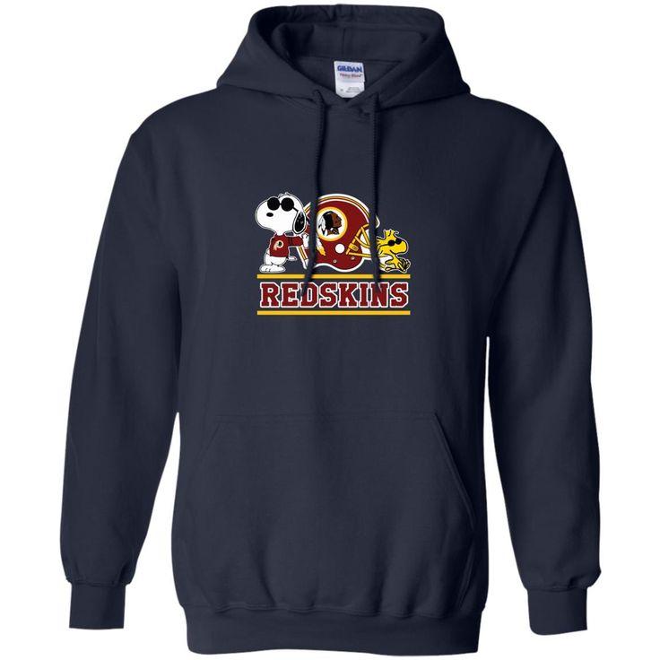 Washington Redskins T shirts Snoopy Hoodies Sweatshirts