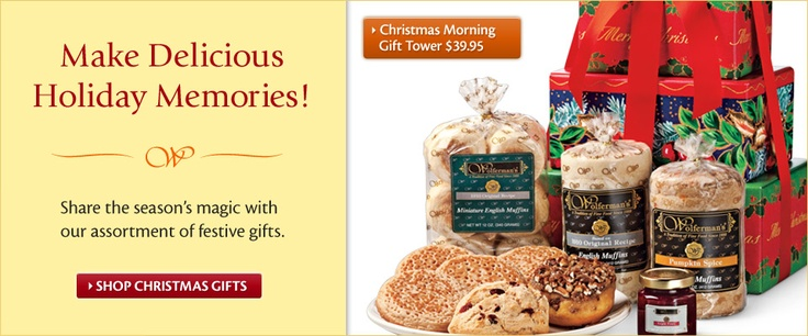 Wolferman's English Muffins....the best.  I get them every year for gifts and for our family.  Love them.