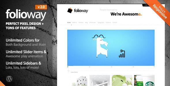 Folioway - Premium Portfolio WordPress Theme - Portfolio Creative