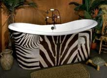 African Zibra Bathroom Decor | Luxury Housing Trends U0026 Home Improvement  Ideas Part 38