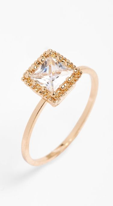 This ring is so delicate and dainty.