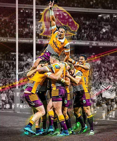 Brisbane Broncos Sports Graphic