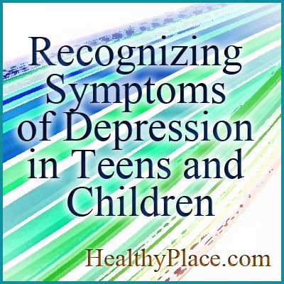 Symptoms of depression in teens and children are similar, but not identical, to adults. Learn more about child or teenage depression symptoms.