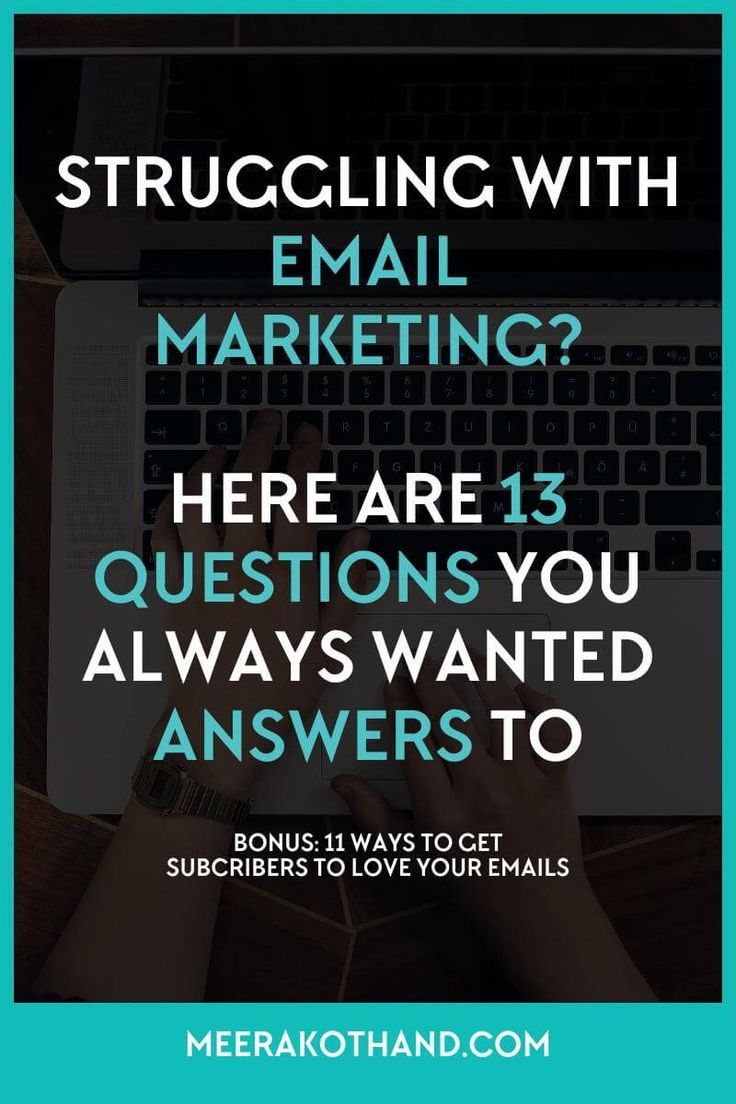 Wish you could get answers to all those pesky email marketing questions on your mind? They seem simple enough but you just can't…