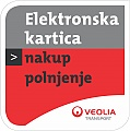 elektronska kartica nalepka 1 bus timetable trieste (trst) - Ljubljana