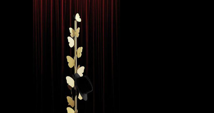#Ghidini1961 #RichardHutten #Butterfly #photo #TommasoSartori #BrassEnsemble #brassdesign #design #designweek #milan