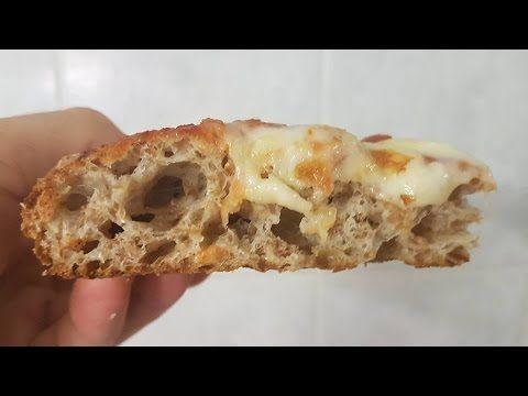 PIZZA INTEGRALE SENZA BISOGNO DI IMPASTARE www.mauro.pizza - YouTube