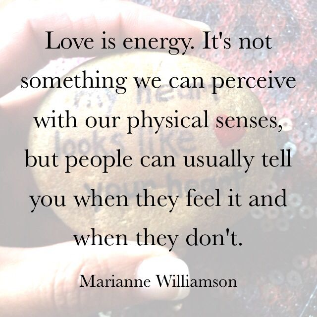 Love. Marianne Williamson.