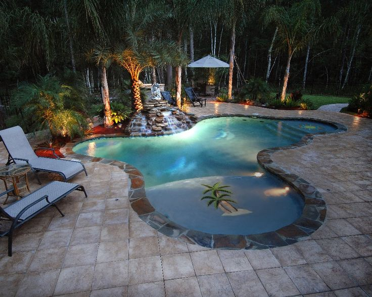 Residential pool photo gallery by aquatech 39 s award winning for Pool design awards