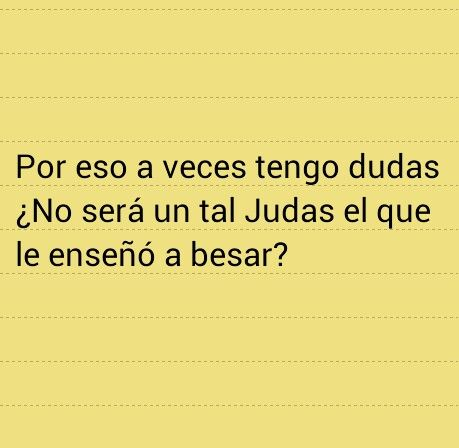 Besos de Judas ~ Joaquin Sabina