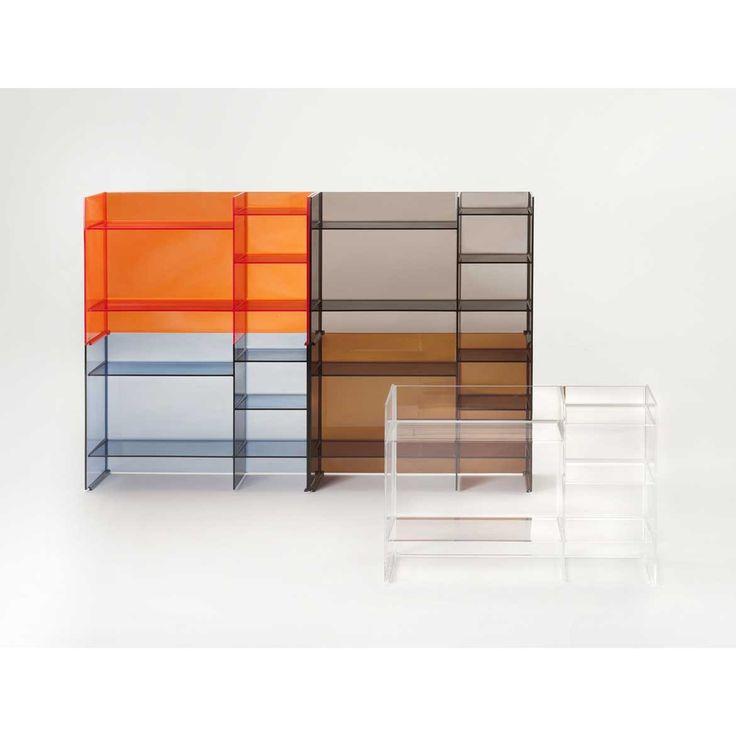 Kartell by Laufen Designer Ludovica+Roberto Palomba SOUND-RACK mobiletto componibile