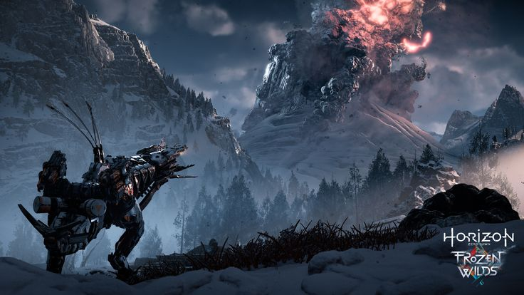 The first set of DLC for Horizon Zero Dawn was revealed at PlayStation's Media Showcase. Take your first look at The Frozen Wilds!