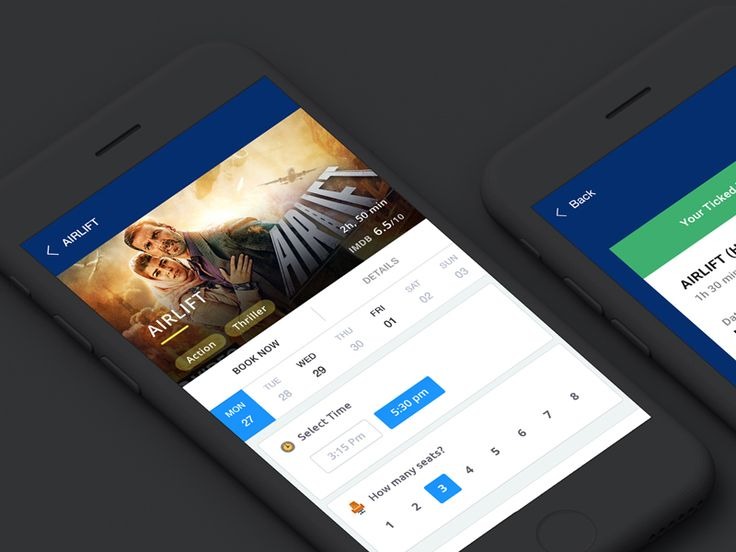 MOVIE BOOKING by WSDesign