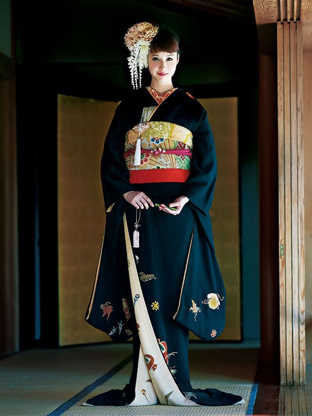 kimono - traditional Japanese dress