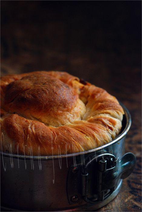 Italian - Casatiello Savory Easter Bread