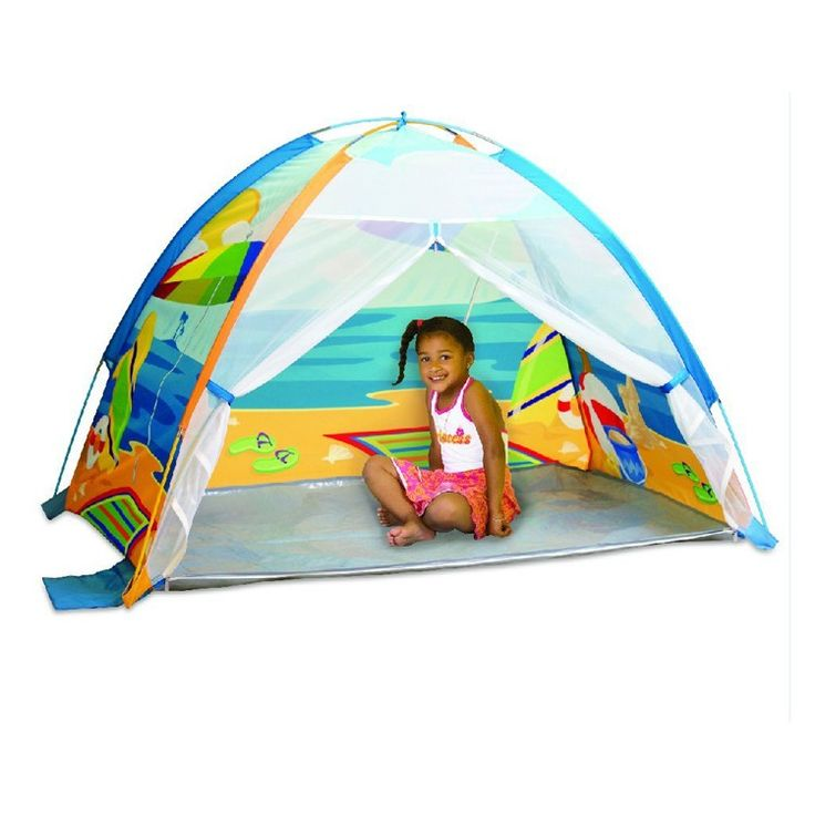 Seaside Beach Cabana Sun Shade Tent for Kids http://www.educationaltoysplanet.com/outdoor-sun-shade-tent.html