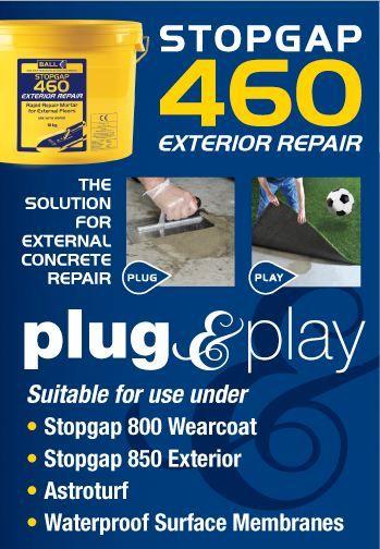 Stopgap 460 - plug & play