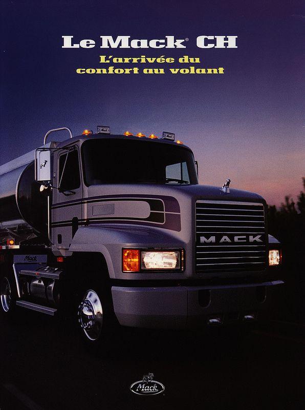 Mack CH - L'arrivée du confort au volant 2000_1 | truck brochure | by worldtravellib World Travel library - The Collection