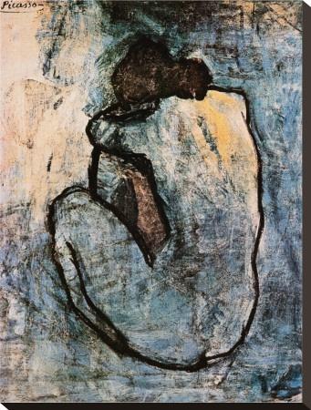 Blue Nude, c.1902 Pablo Picasso