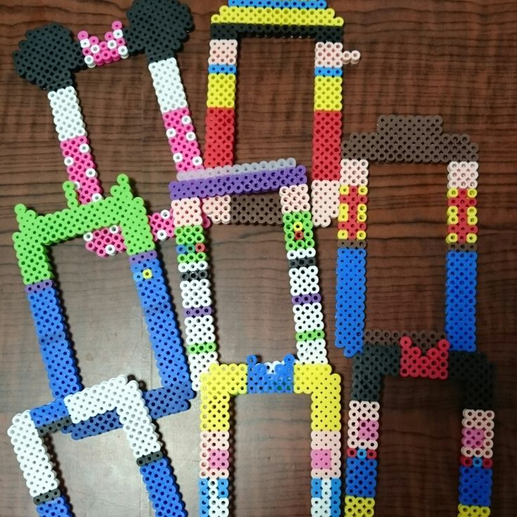 Disney light switch frames perler beads by Hiroko