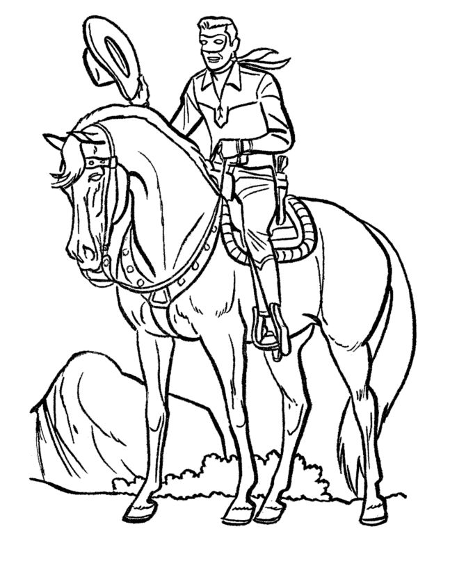 horse totem pole coloring pages - photo#32