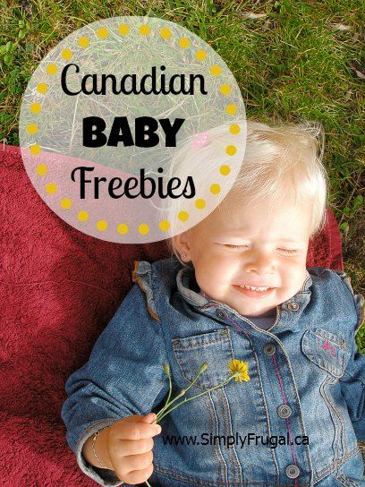 Baby Freebies especially for  Canadian  to Sign Up For!