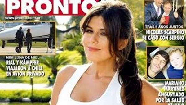 La tapa de la nueva edición de la revista Pronto, con Loly como protagonista. - Proporcionado por Clarín