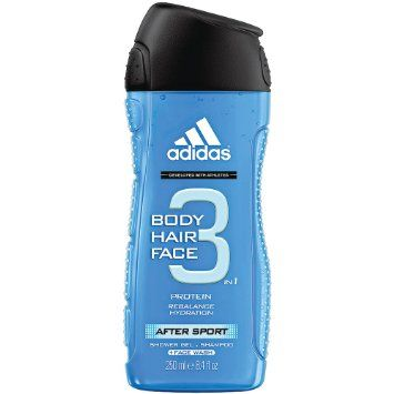 Adidas for Men Hair & Body Shower Gel - After Sport (250ml)