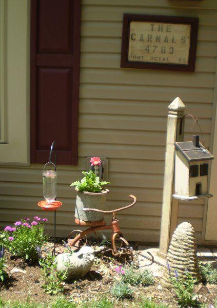 Best 25 Primitive Garden Decor Ideas On Pinterest