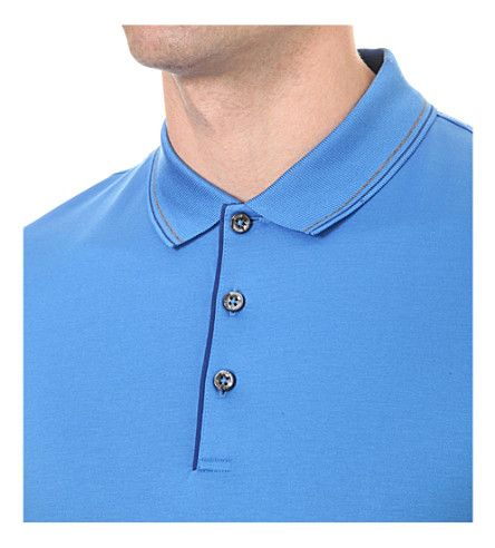 HUGO BOSS Leisure cotton-jersey polo shirt