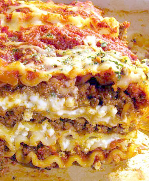 Lasagna bolognese recipe lasagna bolognese dr who for Different kinds of lasagna recipes