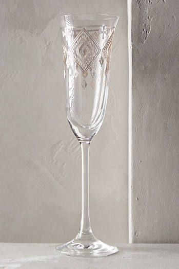 beautiful champagne Glamis Flute    anthropologie.com