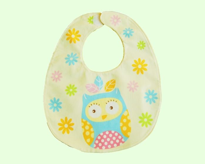 This cute Daisy Owl bib is ideal for your baby girl. It is 100% cotton and has two layers. This baby bib was hand made with love in Australia.