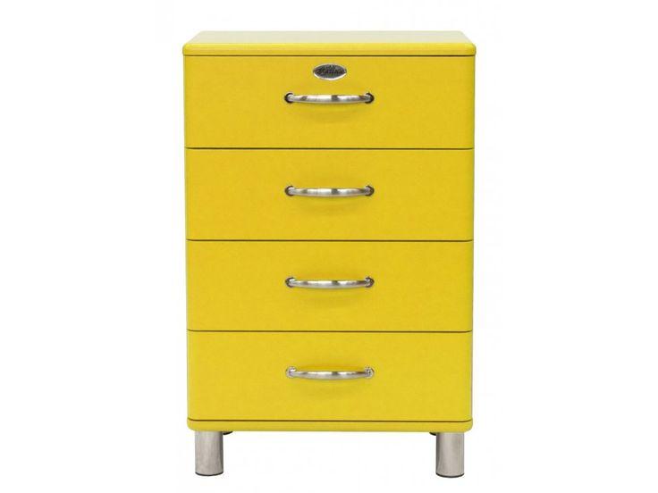 Komoda Malibu żółta — Komody Tenzo — sfmeble.pl  #yellow #furniture  #modern  #sfmeble