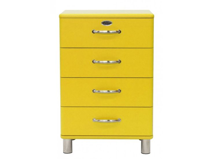 Komoda Malibu żółta — Komody Tenzo — sfmeble.pl  #yellow #furniture  #modern  #sfmeble