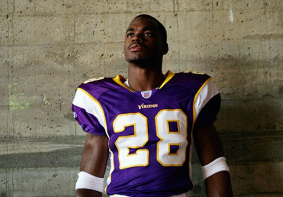 "33. Adrian Peterson Football 6'1"", 217 pounds   Peterson's highlight reel, and list of accomplishments at age 29, is as impressive as it gets. He's won a league MVP award, owns the single-game rushing record, and is one of seven players to reach 2,000 yards rushing in a season. Plus, he did all of that in 2012, which just happened to be the same year he returned to action nine months removed from a devastating knee injury."
