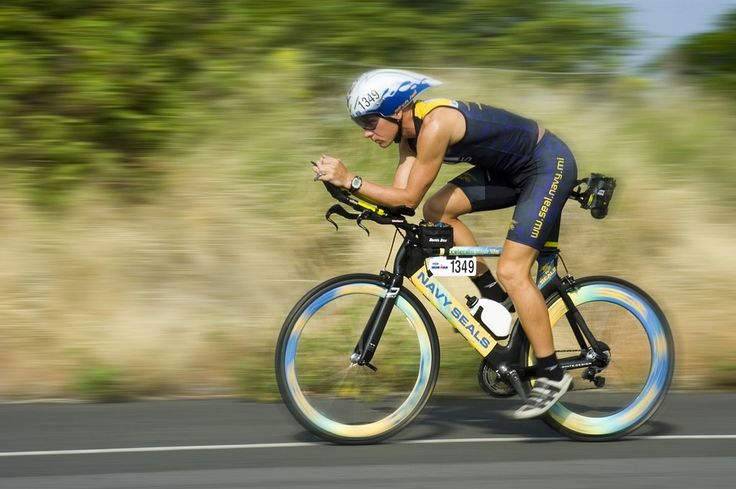 Triathalon Cycling Racer, Competition, Training